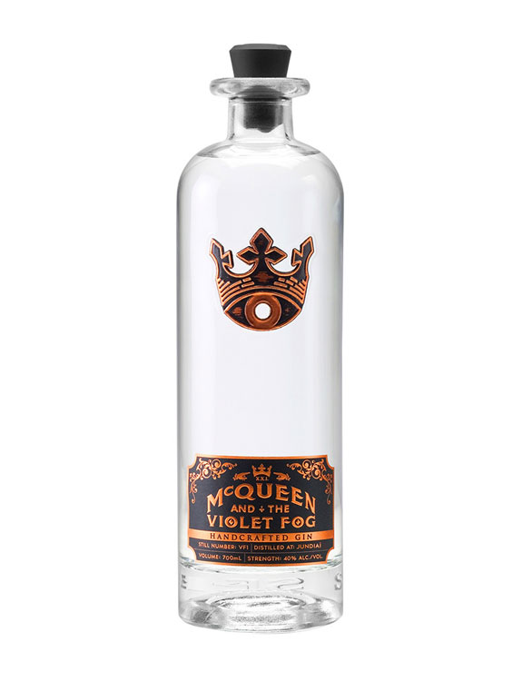 MC QUEEN AND THE VIOLET FOG GIN 0.7L