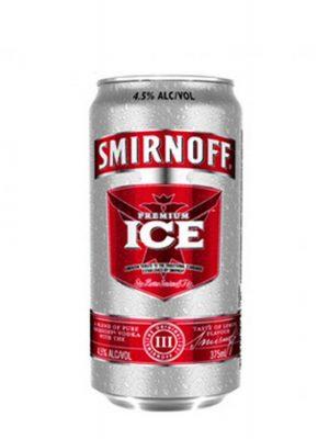 SMIRNOFF VODKA RED ICE CAN 4 BUCATI X 0.25L