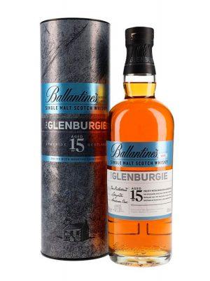 BALLANTINES GLENBURGIE 15 YO SINGLE MALT WHISKY 0.7L