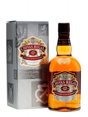 CHIVAS REGAL WHISKY 12YO 0.7L CARTON BOX