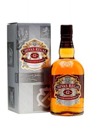 CHIVAS REGAL WHISKY 12YO 1L CARTON BOX