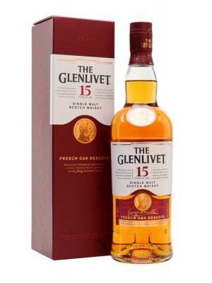 GLENLIVET 15 YO SINGLE MALT WHISKY 0.7L