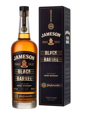JAMESON WHISKY BLACK BARREL 0.7L CARTON BOX