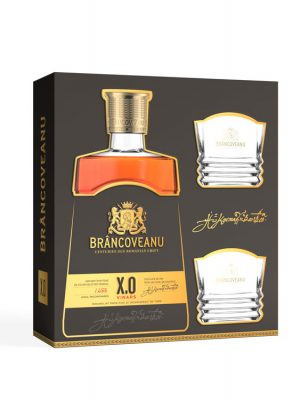 BRÂNCOVEANU VINARS XO GIFT BOX 2 GLASSES