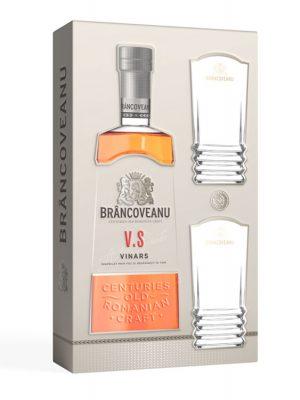 BRÂNCOVEANU VINARS VS GIFT BOX 2 GLASSES