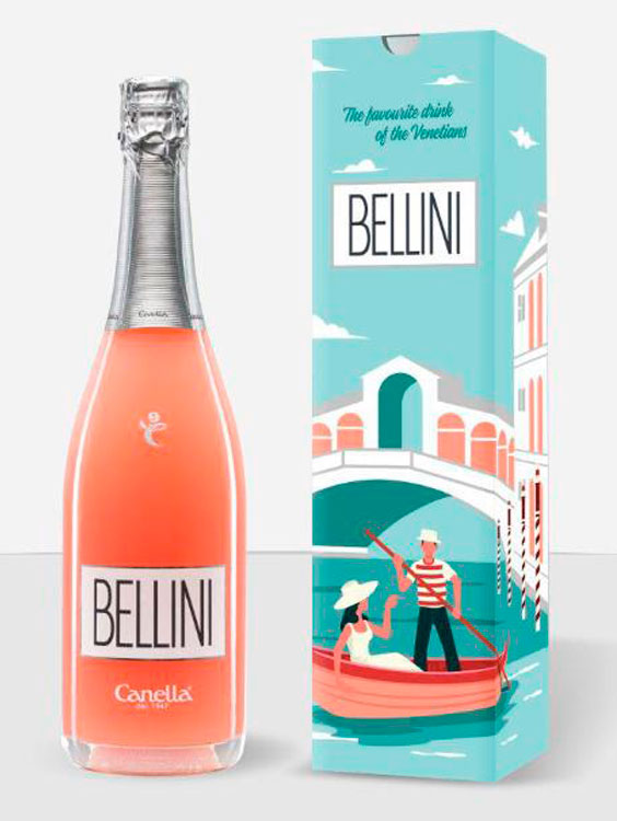 Bellini Canella Aperitiv 0.75L GIFT BOX