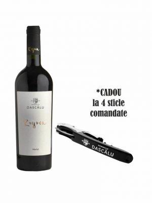 Domeniile Dascalu Rogova Vin Merlot 2016 0.75L