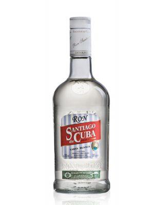 SANTIAGO DE CUBA ROM CARTA BLANCA 0.7L
