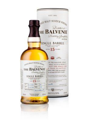 THE BALVENIE SINGLE BARREL 15 YO SINGLE MALT WHISKY 0.7L