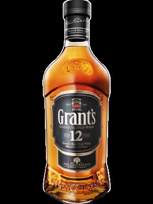 GRANT'S WHISKY 12 YO BOURBON FINISH 0.7L