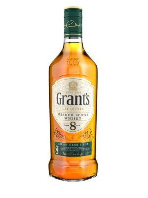 GRANT'S WHISKY 8YO SHERRY CASK 0.7L