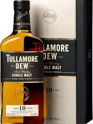 TULLAMORE D.E.W. WHISKY 10 YO 0.7L