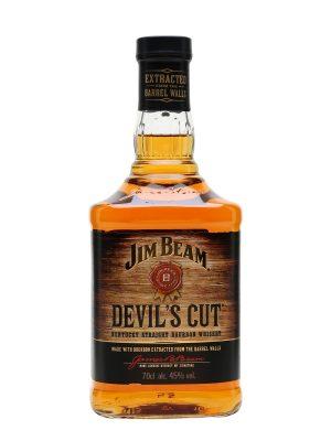 JIM BEAM WHISKY DEVILS CUT 0.7L
