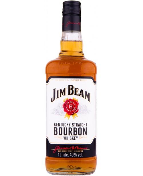 JIM BEAM WHISKY WHITE 1L