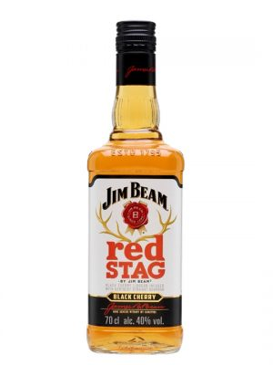 JIM BEAM WHISKY RED STAG 0.7L