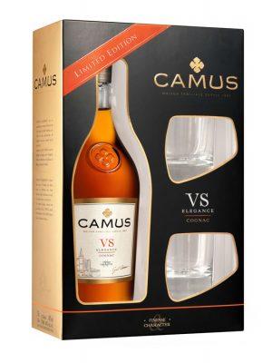CAMUS COGNAC VSELEGANCE 0.7L 2 GLASSES