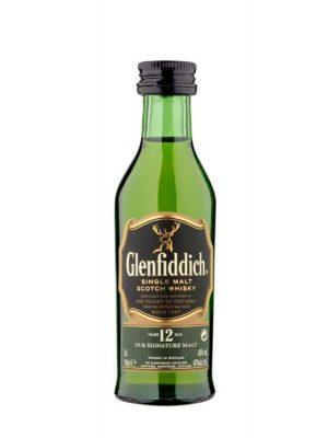 GLENFIDDICH 12YOSINGLE MALT WHISKY 0.05L