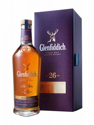 GLENFIDDICH 26YO SINGLE MALT WHISKY 0.7L