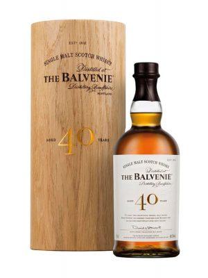 THE BALVENIE 40YO SINGLE MALT WHISKY 0.7L