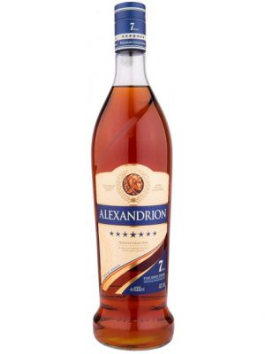 ALEXANDRION BRANDY 7 STELE 1L