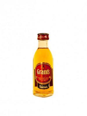 GRANT'S WHISKY TRIPLE WOOD 0.05L