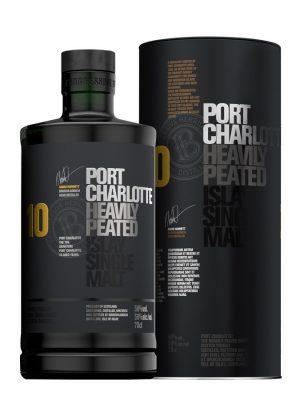 PORT CHARLOTTE 10YO SINGLE MALT WHISKY 0.7L