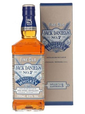JACK DANIEL'S WHISKY LEGACY EDITION 3 0.7L