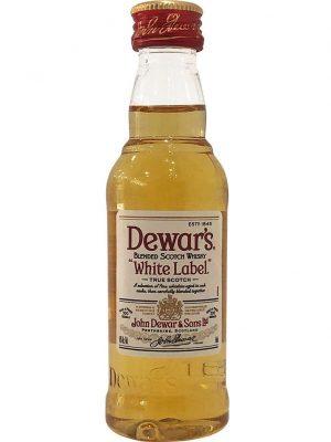 DEWAR'S WHITE LABEL WHISKY 0.05L