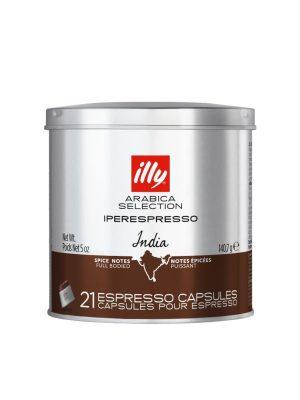 ILLY IPERESPRESSO CAFEA ARABICA SELECTION INDIA , 21 CAPSULE / 140.7 GR
