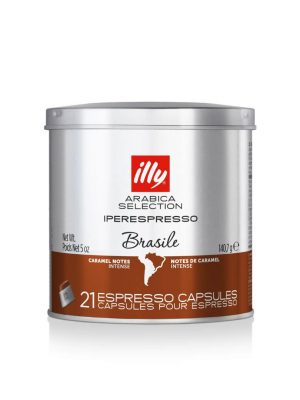 ILLY IPERESPRESSO CAFEA ARABICA SELECTION BRASILE , 21 CAPSULE / 140.7 GR