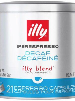 ILLY IPERESPRESSO CAFEA DECAFEINIZATA 21 CAPSULE / 140.7 GR