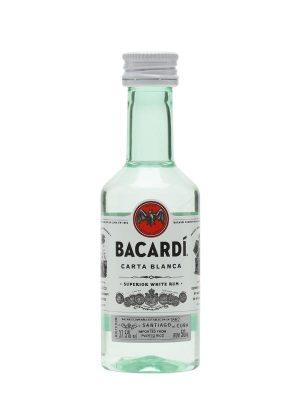 BACARDI ROM CARTA BLANCA 0.05L