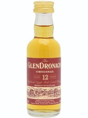 GLENDRONACH 12YO SINGLE MALT WHISKY 0.05L