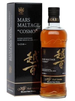 MARS COSMO JAPANESE BLENDED MALT WHISKY 0.7L