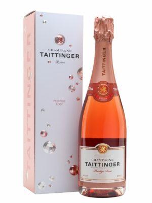 TAITTINGER Sampanie Prestige Rose 0.75L