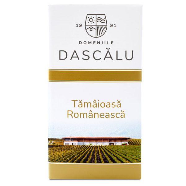 Domeniile Dascalu Vin Alb Tamaioasa Romaneasca BIB 2L 3