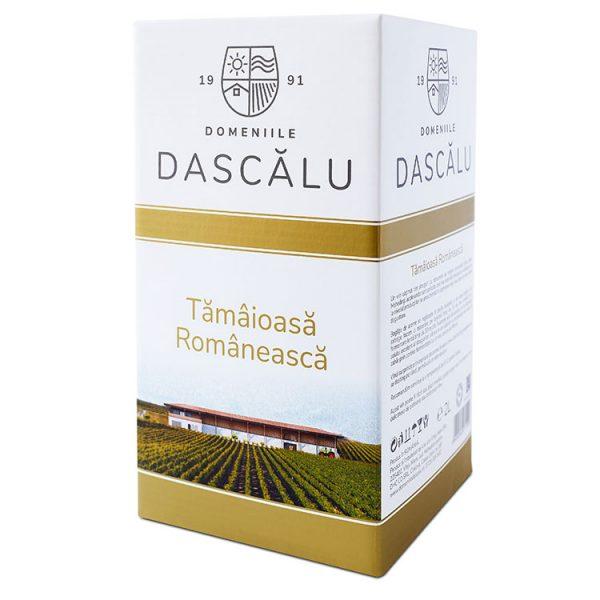 Domeniile Dascalu Vin Alb Tamaioasa Romaneasca BIB 2L