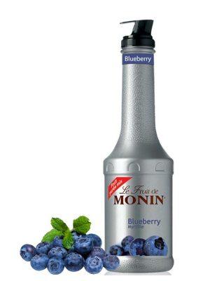 MONIN PIURE DE FRUCTE BLUEBERRY 1L
