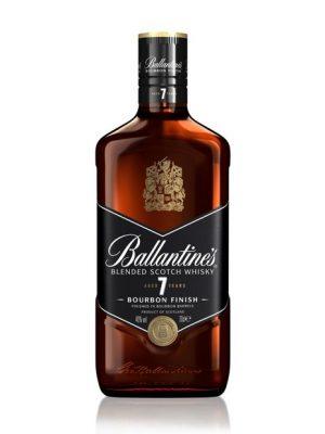 BALLANTINES WHISKY 7 YO BOURBON FINISH 0.7L