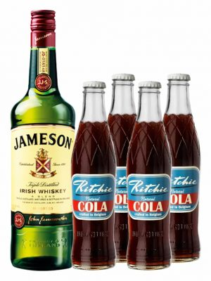 Pachet Whisky and Cola Classic Mix