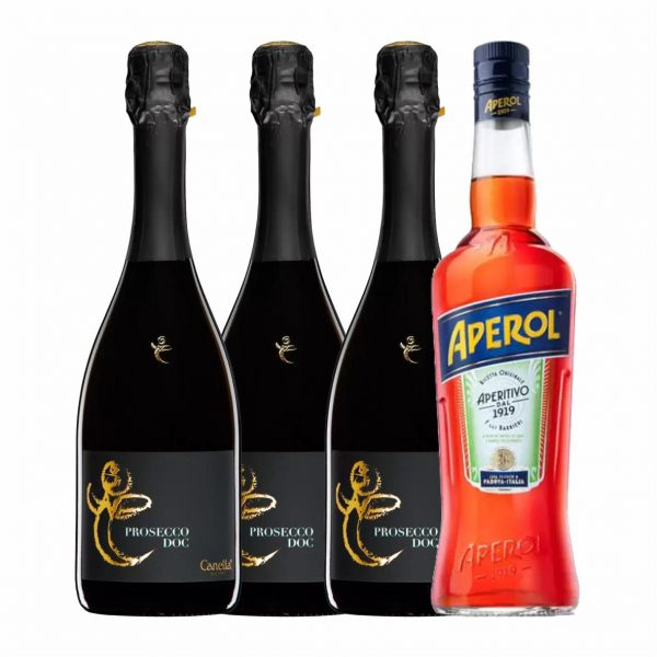 PACHET APEROL SPRITZ EVEN MORE STYLISH PACK