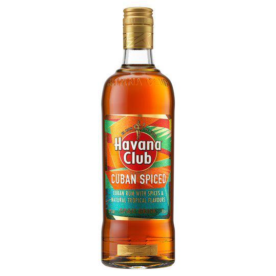 HAVANA CLUB ROM CUBAN SPICED 0.7L