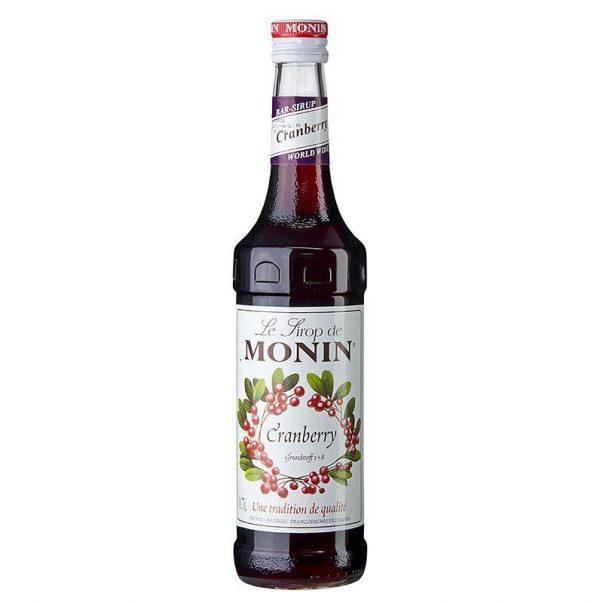 MONIN SIROP Cranberry 0.7L