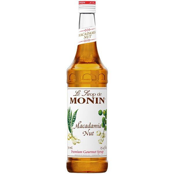 MONIN SIROP MACADAMIA NUT 0.7L